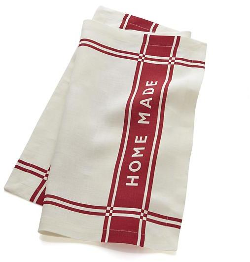 Crate & Barrel Home Made and Hand Made Linen Dishtowel