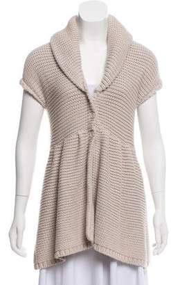 Alice + Olivia Knit Shawl Collar Vest