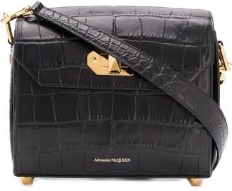Alexander McQueen twist-lock fastening shoulder bag