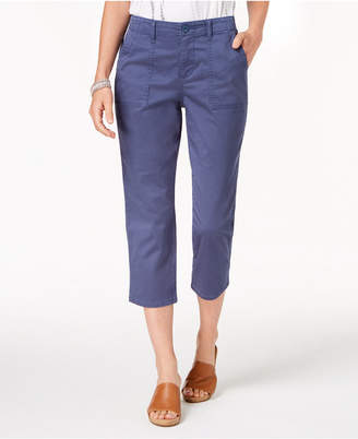 Style&Co. Style & Co Curved-Pocket Capri Pants, Created for Macy's