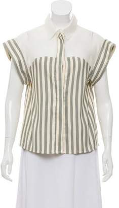Paul & Joe Sister Stripe Button-Up Top