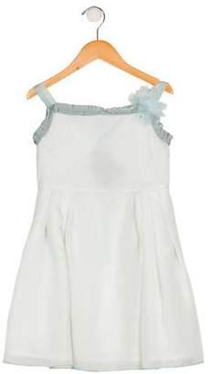 Lanvin Petite Girls' Silk Flare Dress w/ Tags