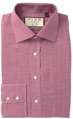 Thomas Pink Hector Slim Fit Check Dress Shirt
