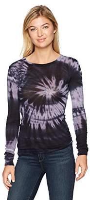Enza Costa Women's Bold Long Sleeve Crewneck T-Shirt