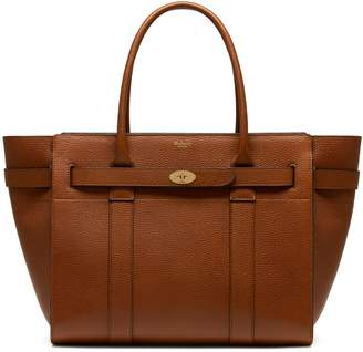 Mulberry Zipped Bayswater Oak Natural Grain Leather