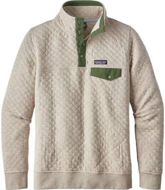 Patagonia Organic Cotton Quilt Snap-T Pullover Sweatshirt - Women's