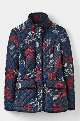 Joules Floral Quilted Jacket