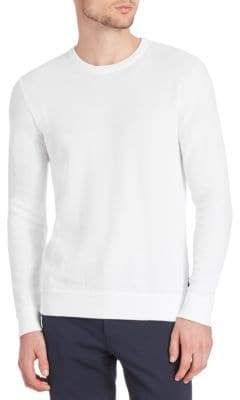 Michael Kors Pique-Stitch Cotton Sweatshirt