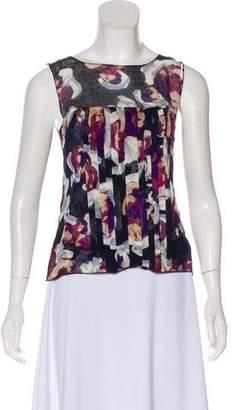 Chanel Silk Camellia Top