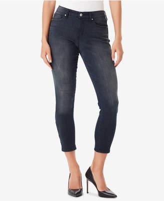Vintage America Juniors' Wonderland Lattice Skinny Jeans