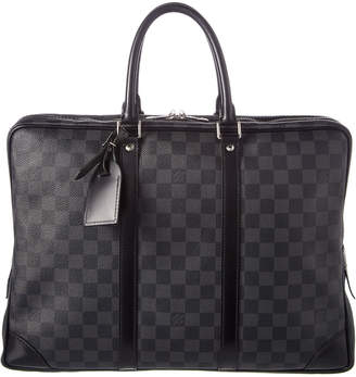 Louis Vuitton Damier Graphite Canvas Porte Documents Voyage