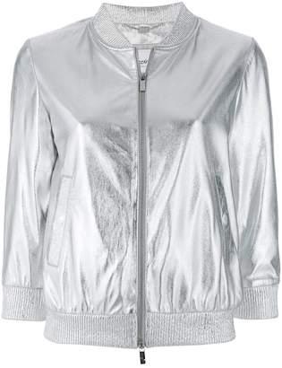 Blugirl shiny bomber jacket