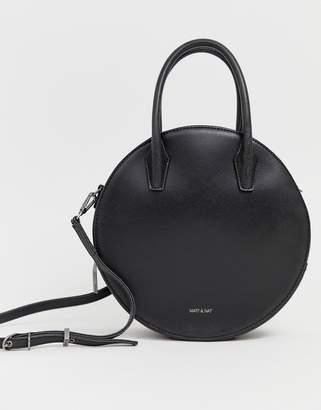 Matt & Nat circle tote bag in black