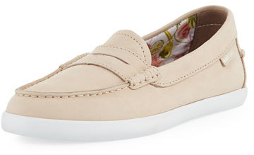 Cole Haan  Cole Haan Pinch Grand Weekender Leather Loafer, Sand