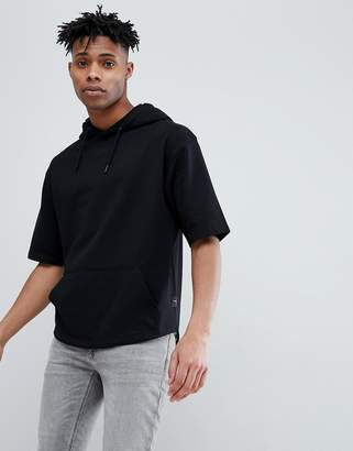 ONLY & SONS Short Sleeve Hoodie Sweat