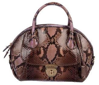 69858b9a0843 Salvatore Ferragamo Python Bag - ShopStyle
