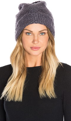 Hat Attack Cozy Cuff Slouchy Beanie in Grey. $55 thestylecure.com