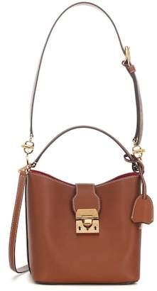 Mark Cross Murphy Small leather bucket bag