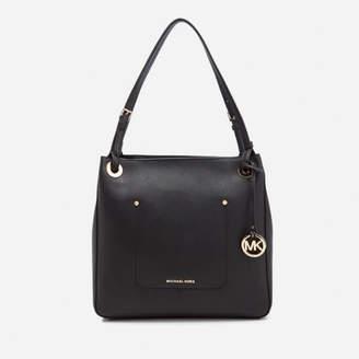 MICHAEL Michael Kors Women's Walsh Medium Tote Bag - Black
