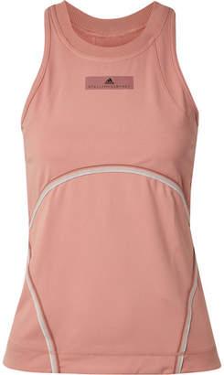 adidas by Stella McCartney Comfort Cutout Climalite Stretch Tank - Blush
