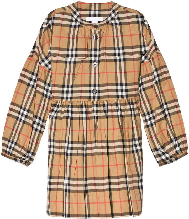 Burberry Antique Check Marny Dress