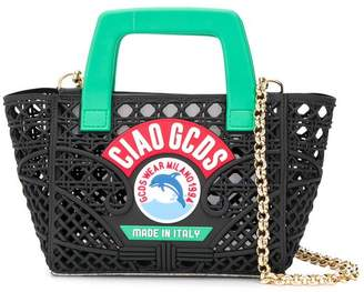 GCDS woven mini bag