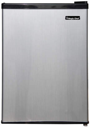 Magic Chef 2.4 Cubic Feet Mini Refrigerator with Half-Width Freezer Compartment and Door