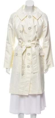 Philosophy di Alberta Ferretti Single-Breasted Trench Coat