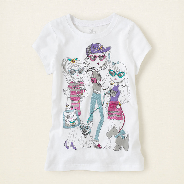 Children's Place Cool girls graphic tee