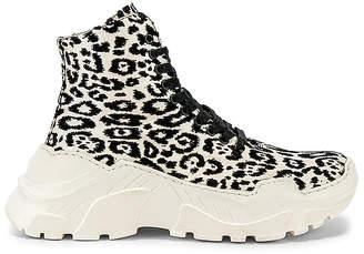 Tibi Milo Leopard Sneaker Boot