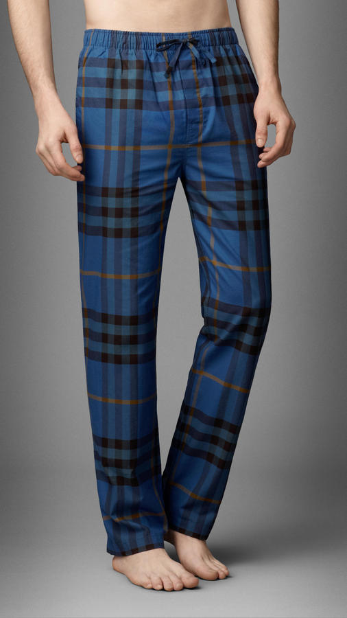 Classic Check Pajama Trousers