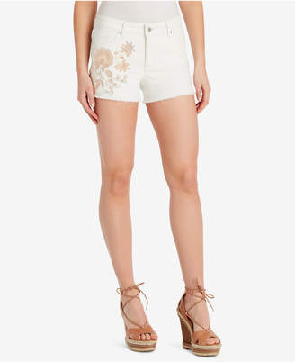 Jessica Simpson Juniors' Cherish Embroidered Shorts