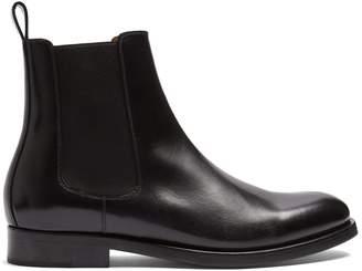 Valentino New Tuxedo leather chelsea boots