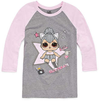 Freeze Graphic Raglan Tee - Girls' 4-12