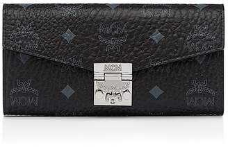 MCM Patricia Visetos Large Chain Wallet