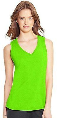 Champion Authentic Women's Jersey V-Neck Tank Tank Top
