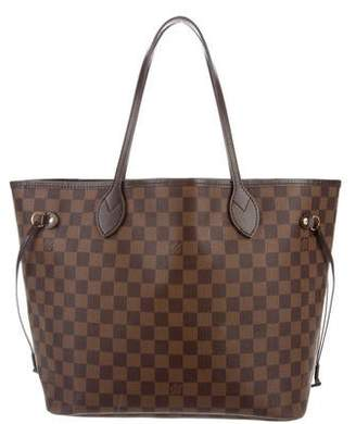 4d49238ab2a6 Louis Vuitton Damier Ebene Neverfull MM