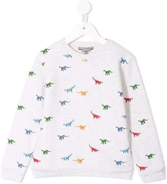 Bonpoint dinosaur print sweatshirt