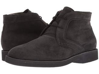 Canali Lace-Up Ankle Boot