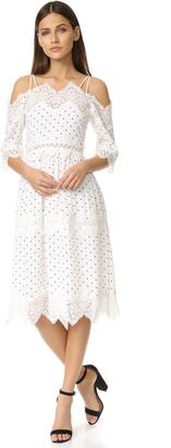 endless rose Cold Shoulder Dress $120 thestylecure.com