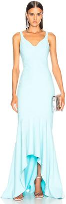 Cinq à Sept Sade Gown in Blue Topaz   FWRD