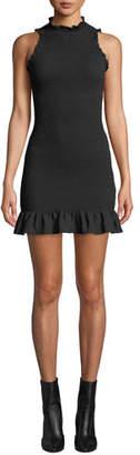 LIKELY Tate Smocked Ruffle Short Dress