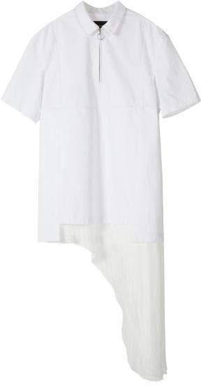 SHAMAN POPLIN DRESS atb141w White