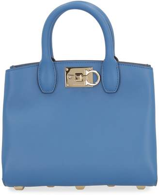 Salvatore Ferragamo Vara Bow Leather Belt Bag