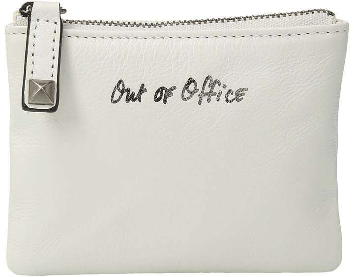 Rebecca Minkoff Betty Pouch-Out Of Office Wallet Handbags - BIANCO - STYLE