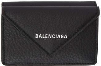 Balenciaga (バレンシアガ) - Balenciaga ブラック ペーパー シン ミニ ウォレット