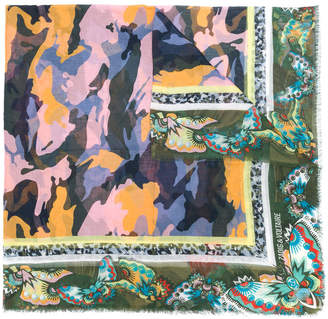 Zadig & Voltaire printed style scarf
