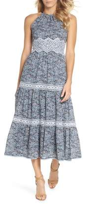 Adelyn Rae Breana Halter Maxi Dress