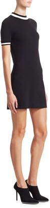 Alexander Wang Rib-Trim T-Shirt Dress