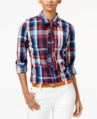 Tommy Hilfiger Plaid Shirt, Only at Macy's $49.50 thestylecure.com